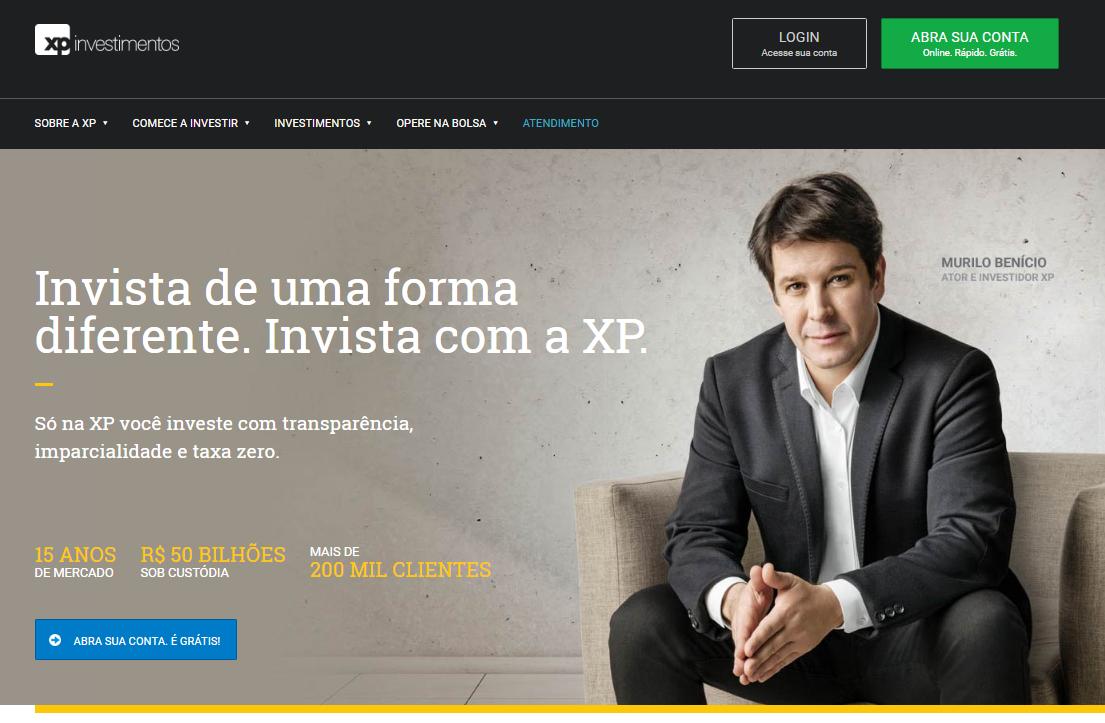 XP Investimentos Abertura Conta