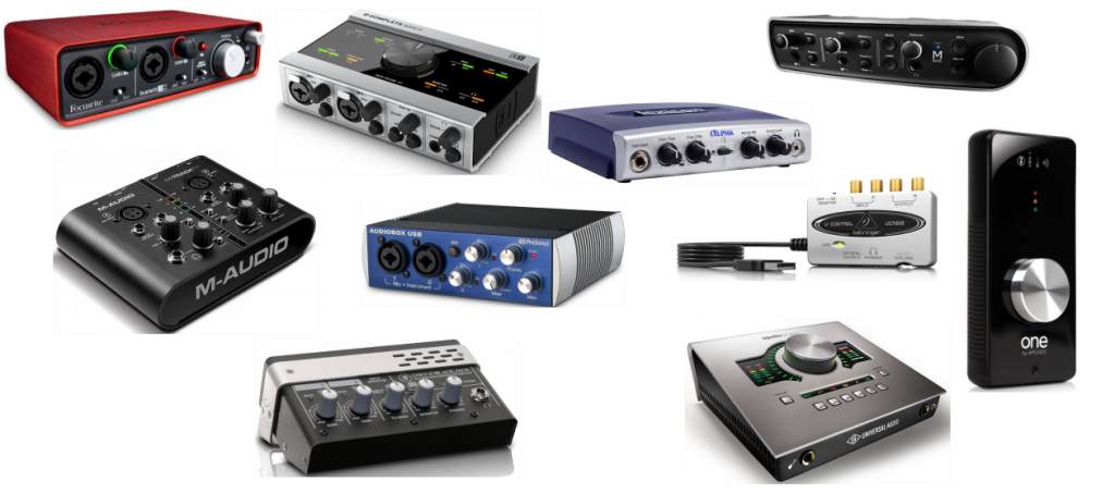 2017 Audio Interface for Recording